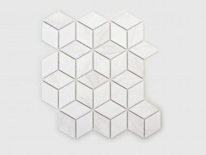 mramorova mozaika sit kosoctverec diamant 03