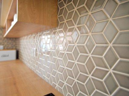 diamond mozaika na siti kosoctverec lesk bezova kremova kapucino 10