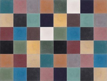 Couleur cementová dlažba jednobarevná 10x10 - 54 barev