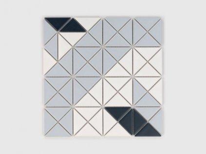 history mozaika hvezda seda star grey historicka na siti cerna 01