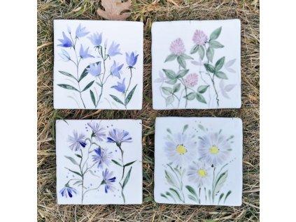 malovane obklady selske lucni kviti kvetiny 01