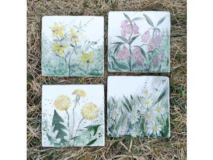 malovane obklady selske lucni kviti kvetiny 02