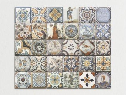antique obklady spanelske do kuchyne dekory patchwork 01