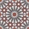 dlazba orientalni cementova dekor 20x20 menton 0401