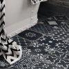 xclusive ceramica re style dlazba cernobila dekory retro patchwork
