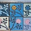 dlazba orientalni cementova kvetiny 20x20 michele 17