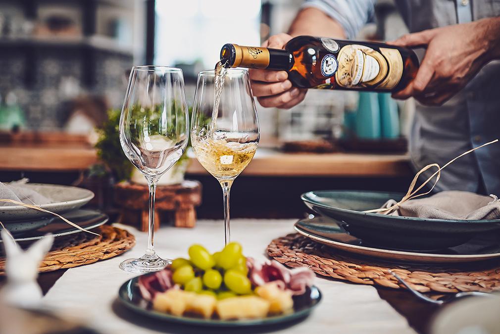 Párování vín s jídlem
