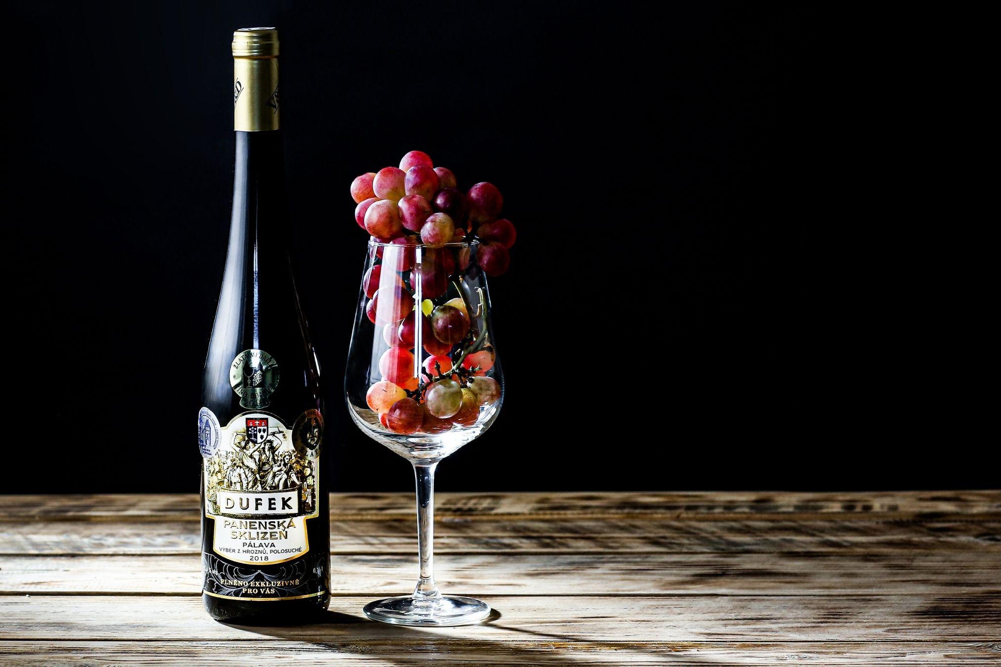 Postup výroby vína