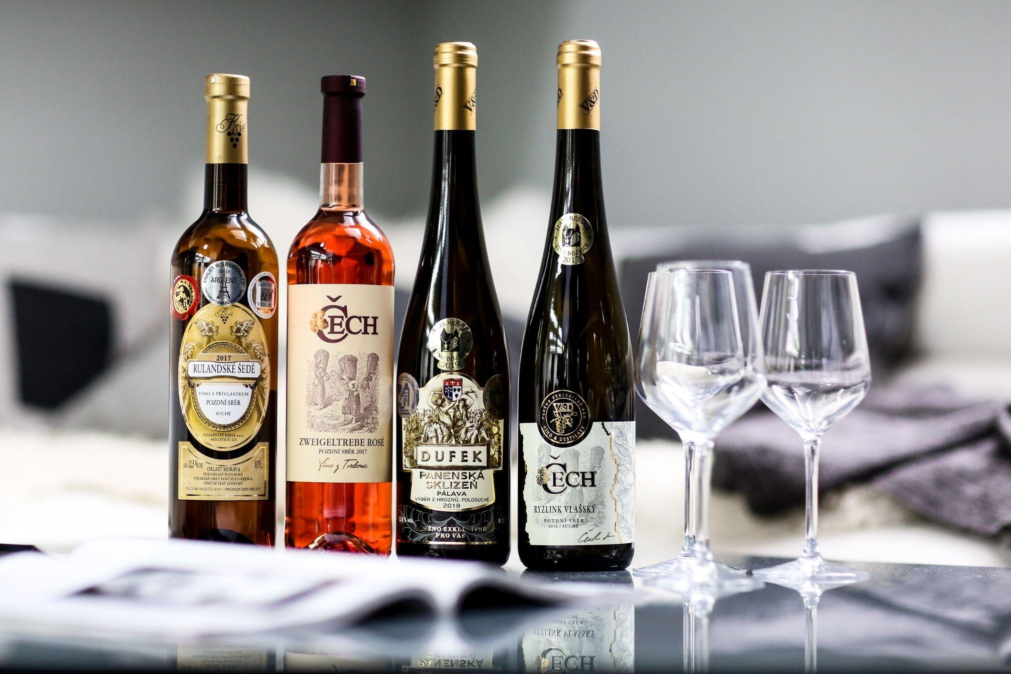 Rozdělení tichých vín