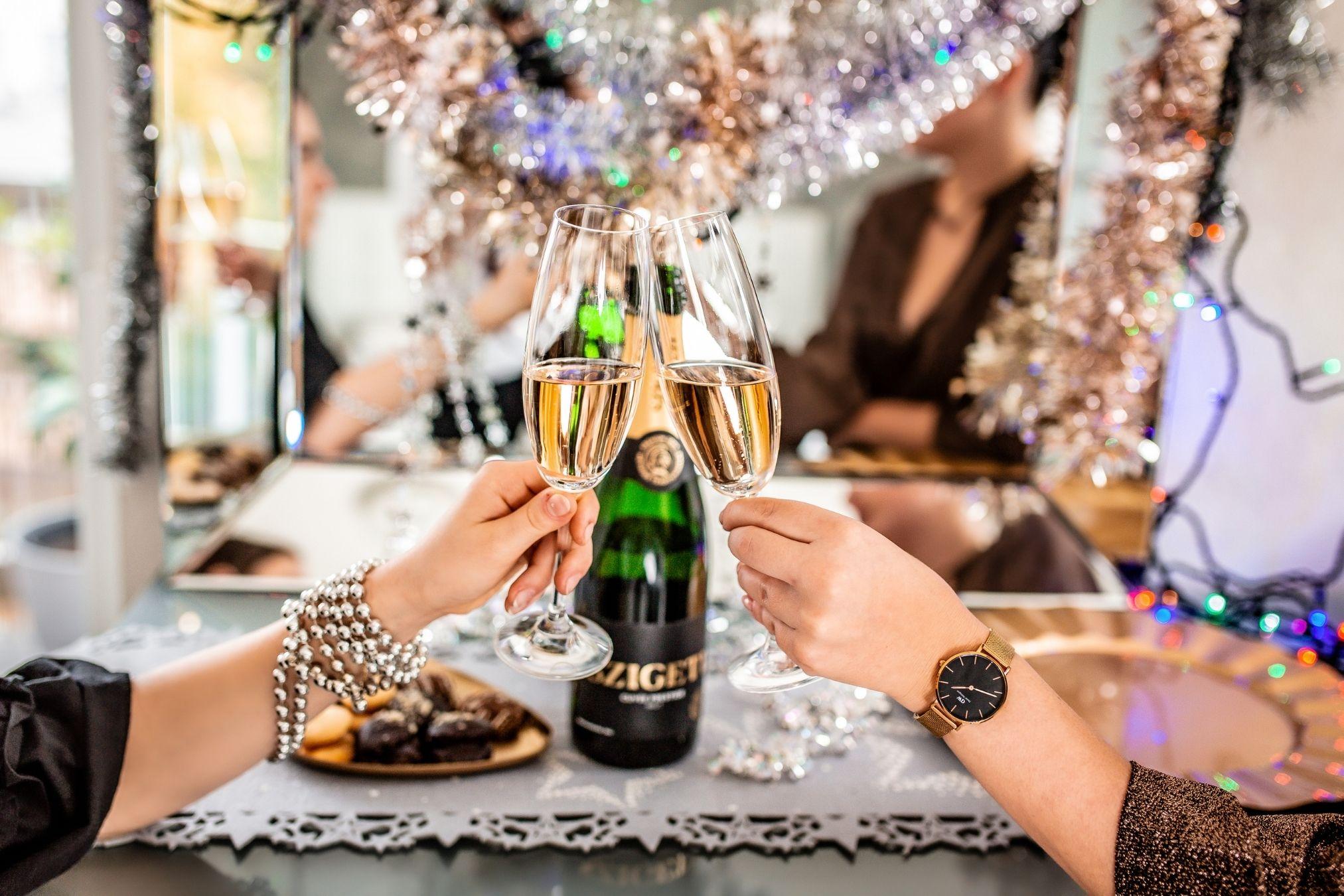 Rozdělění a výroba champagne, sektů a šumivých vín