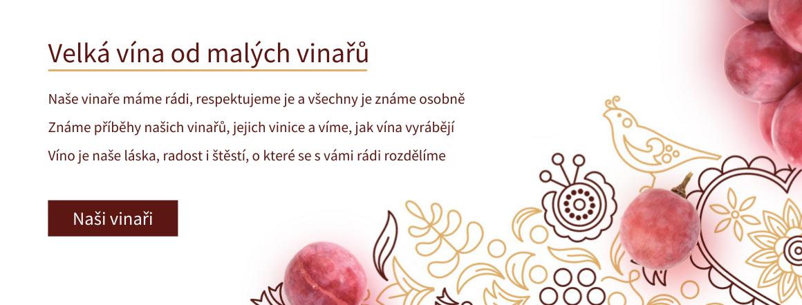 Velká vína od malých vinařů