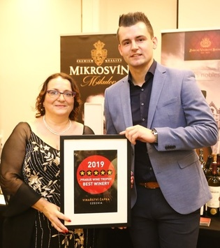 Úspěch na Prague Wine Trophy 2019