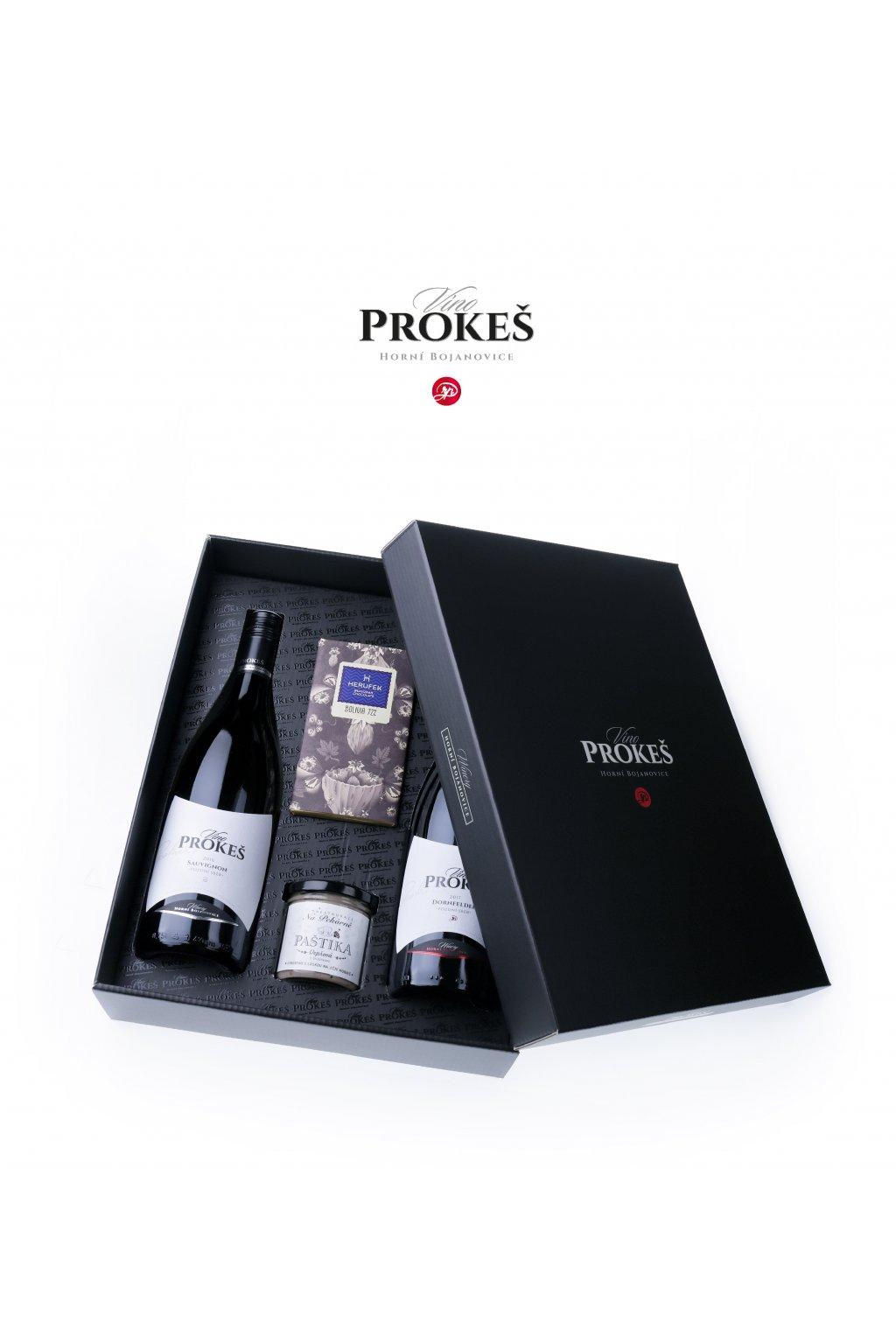 PROKES Vin DARKOVE velke 2x lahev pastika coko v5 LOGO