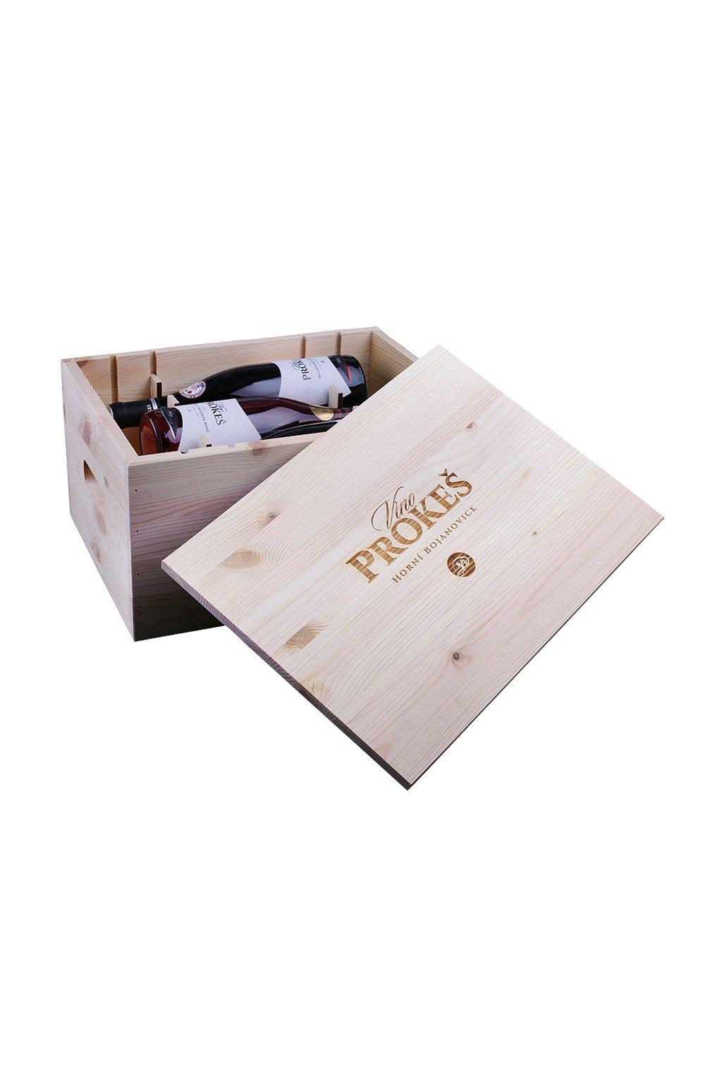 darkovy box s vinem