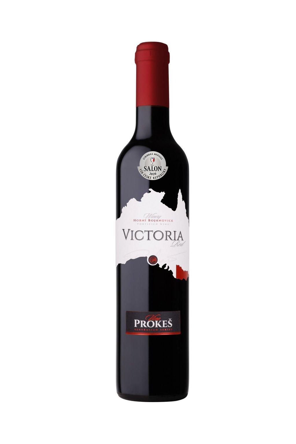 PROKES Vin FOTOMONTAZ lahve VIKTORIA Red