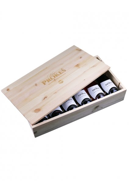 darkove baleni vin dreveny box