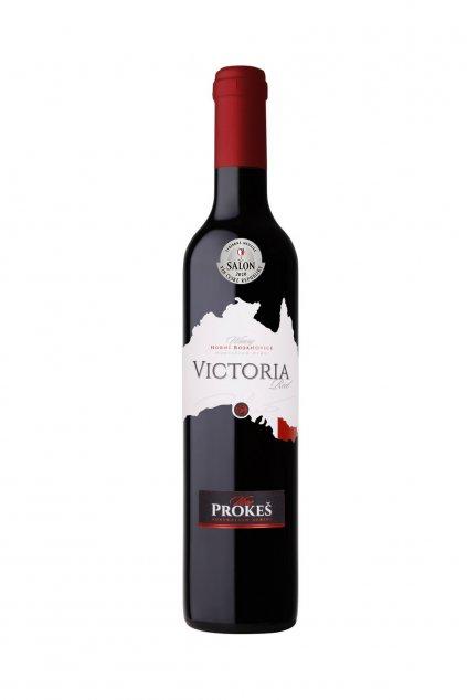 victoria red 2015 stribrna medaile salon vin 2020