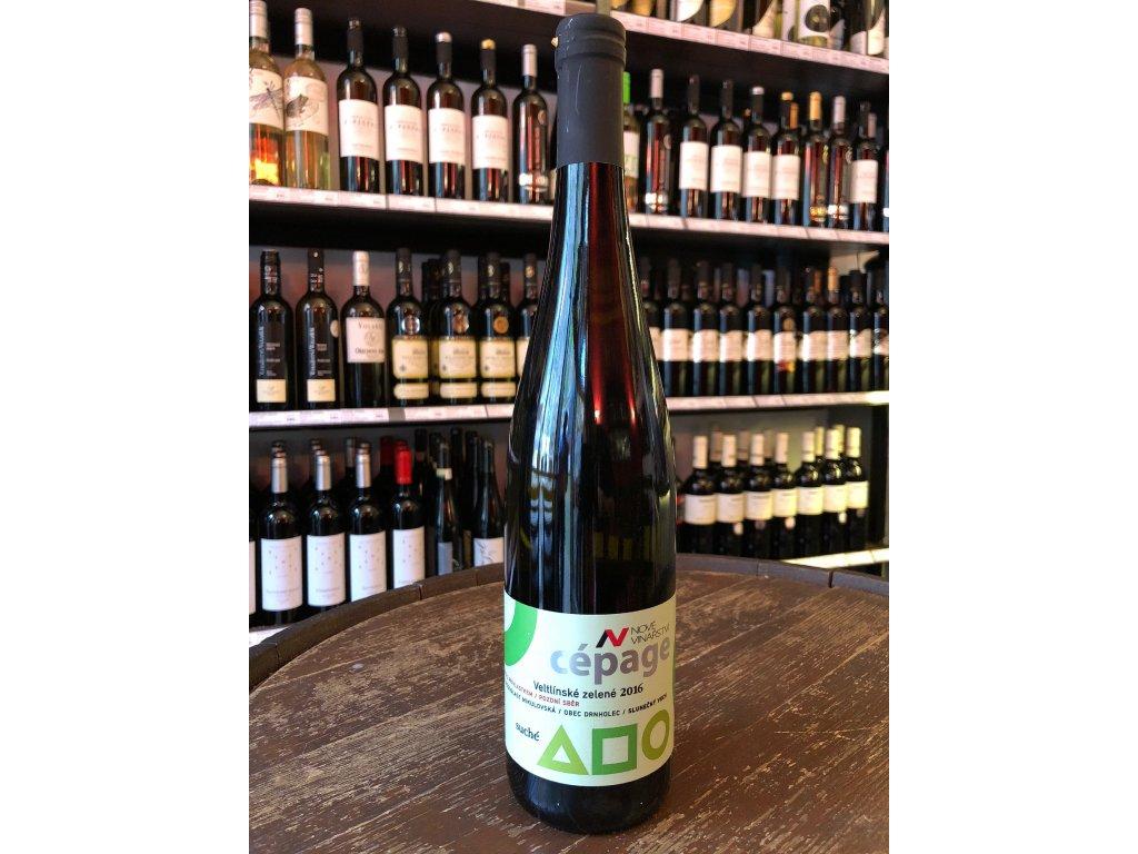 Veltlínské zelené, Nové vinařství, Pozdní sběr