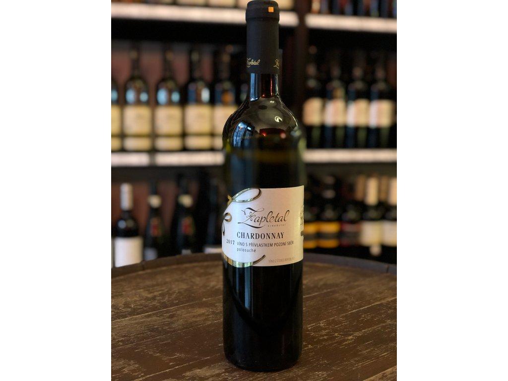 Chardonnay, Zapletal, Pozdní sběr