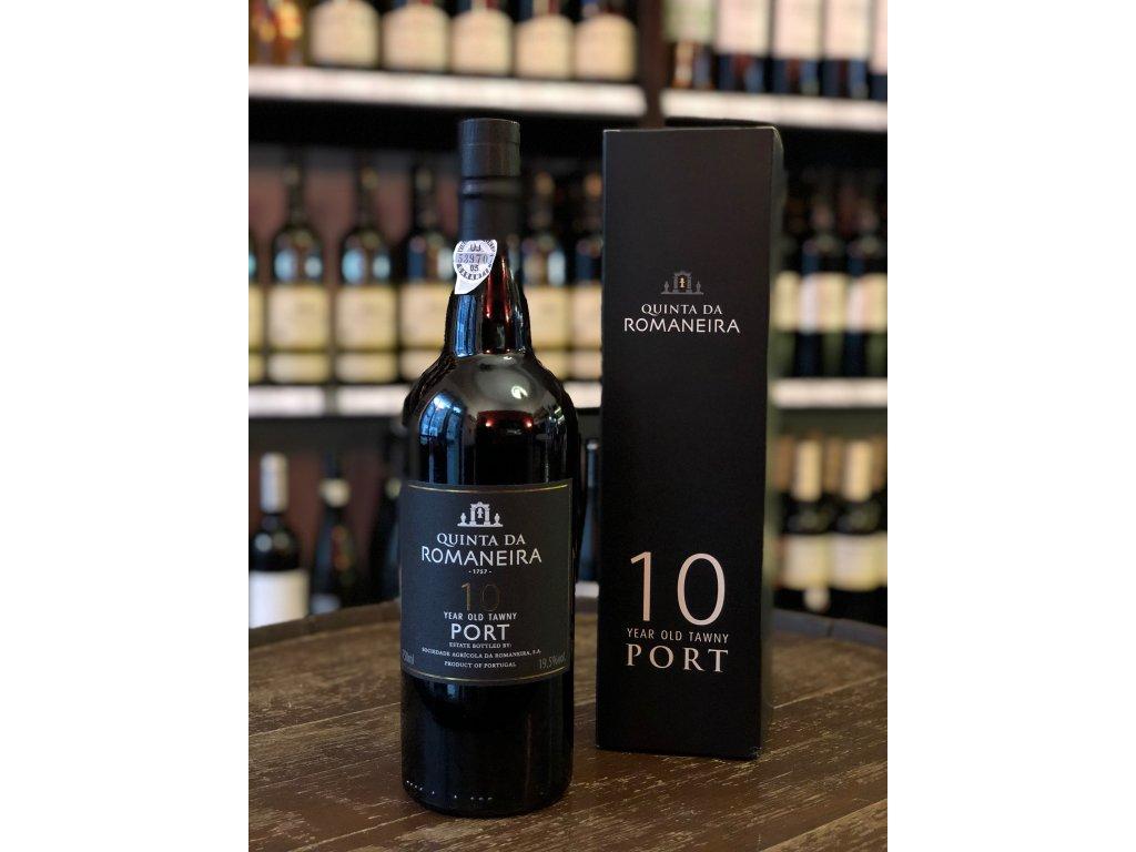 Portské víno Quinta da Romaneira 10 leté Tawny