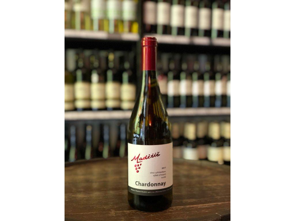 Chardonnay, Maděřič, Výběr z hroznů