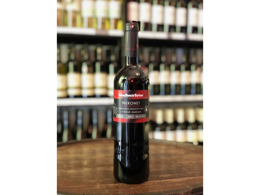 Neronet barrique, Tetur, Jakostní víno