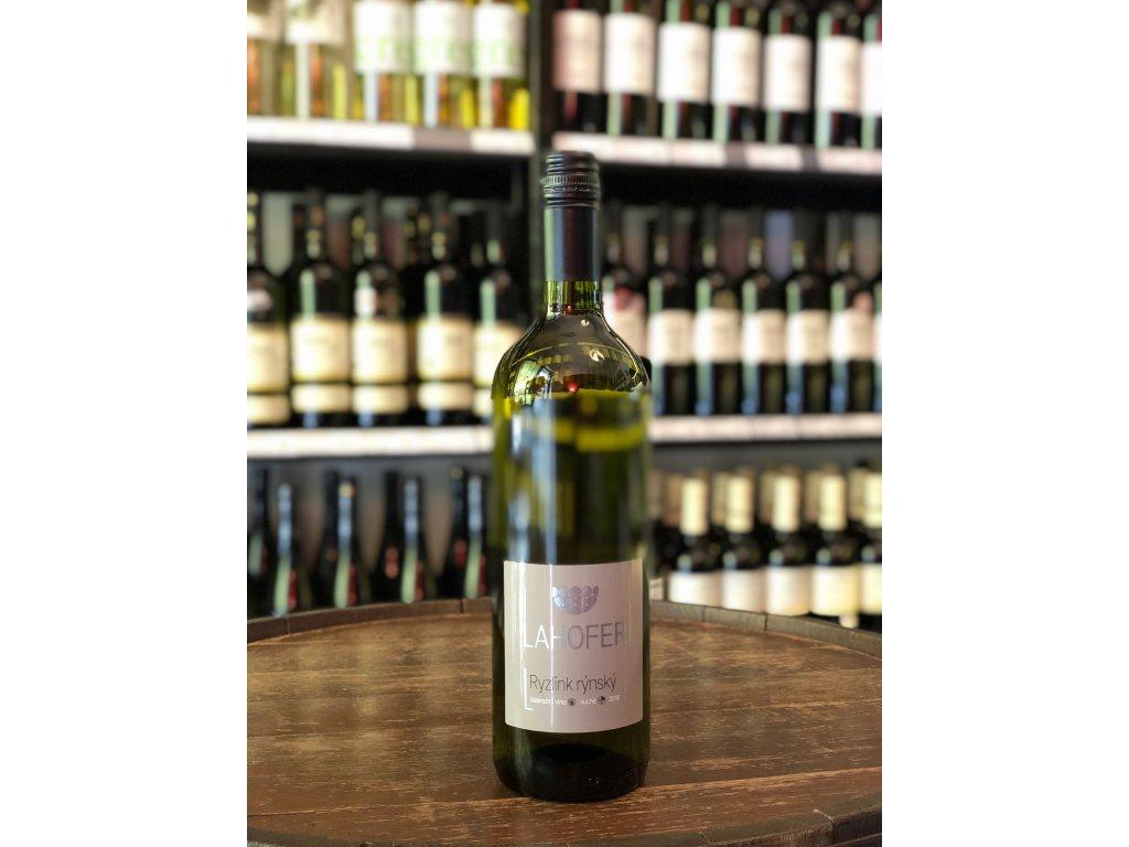 Ryzlink rýnský, Lahofer, Kabinetní víno