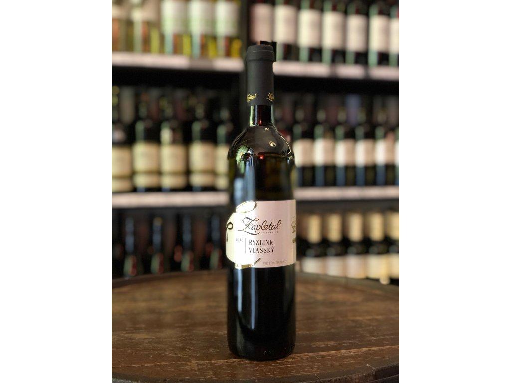 Ryzlink vlašský, Zapletal, Moravské zemské víno