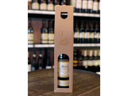 Papírová krabička na jedno víno