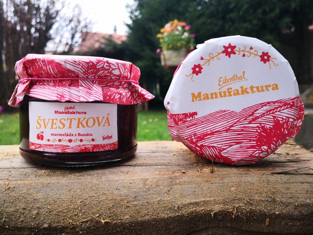 Švestková marmeláda 0,3l