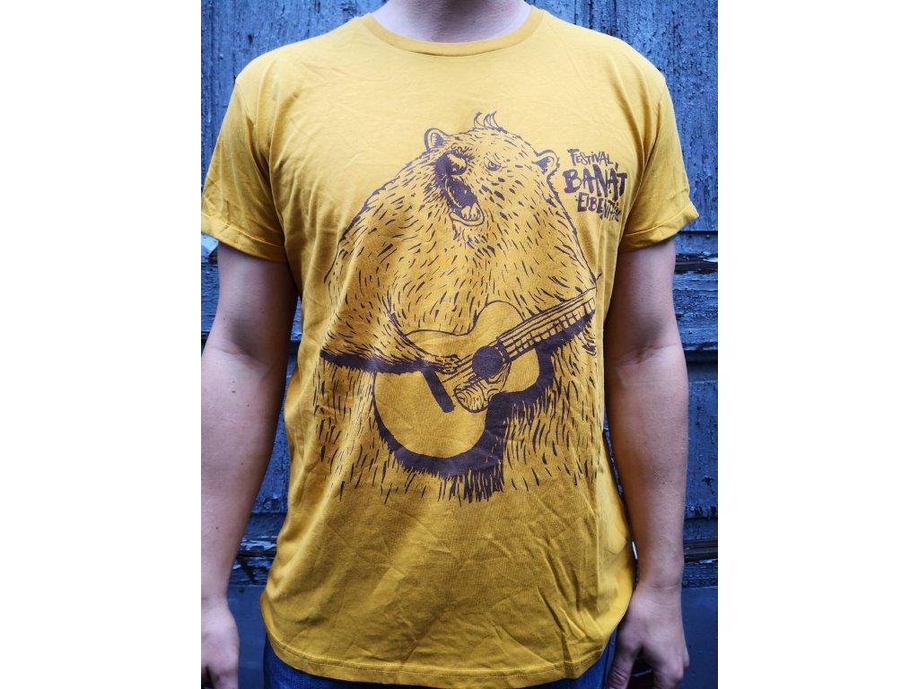 Triko MEDVĚD - žluté
