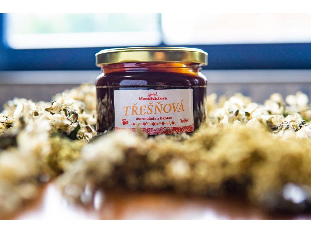 Třešňová marmeláda 0,3l