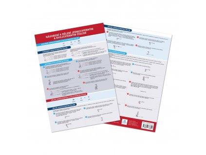 Přehledová tabulka učiva Násobení a dělení jednociferným a dvojciferným číslem