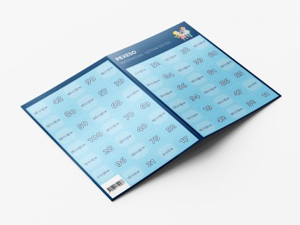 Pexeso Matematika Sčítání do 100 produkt