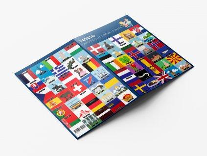 Pexeso – Vlastivěda 5. ročník Evropa produkt
