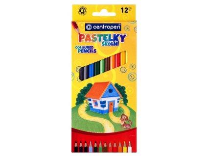 Pastelky - centropen - 12 ks