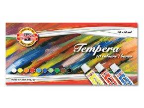 Temperové barvy 10 ks - Koh-i-noor