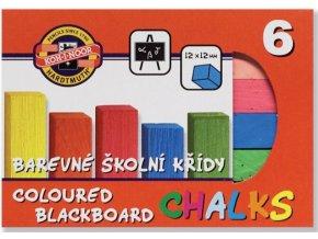 Křídy - školní - barevné
