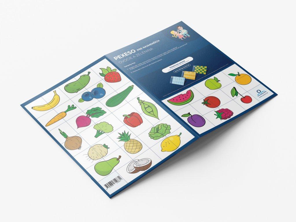 Pexeso Ovoce a zelenina SK produkt