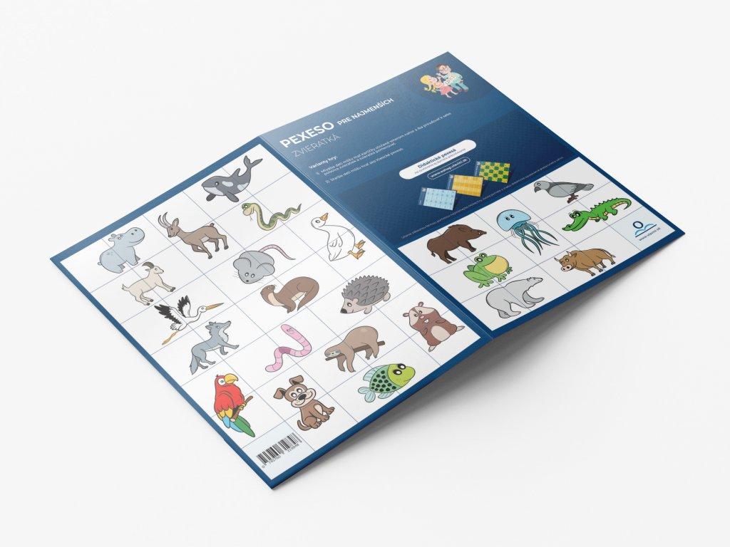 Pexeso Zvířata SK produkt
