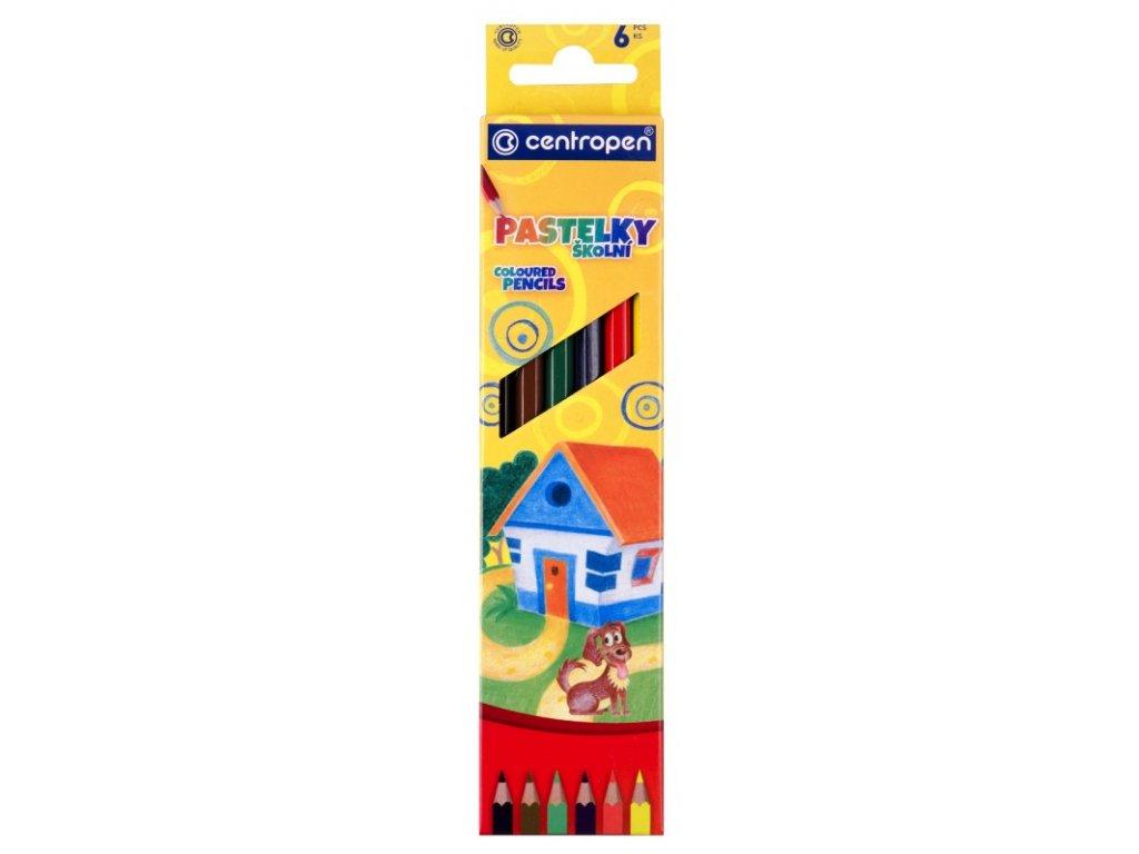 Pastelky - Centropen - 6 kusov
