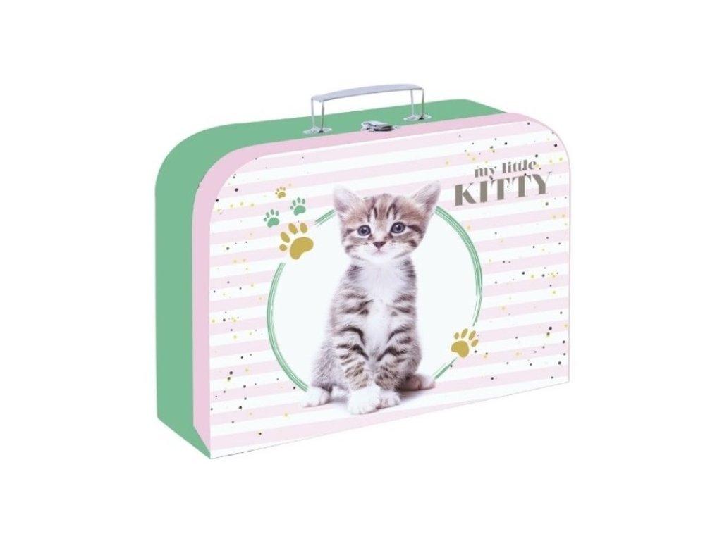 Kufrík na výtvarné potreby - mačka