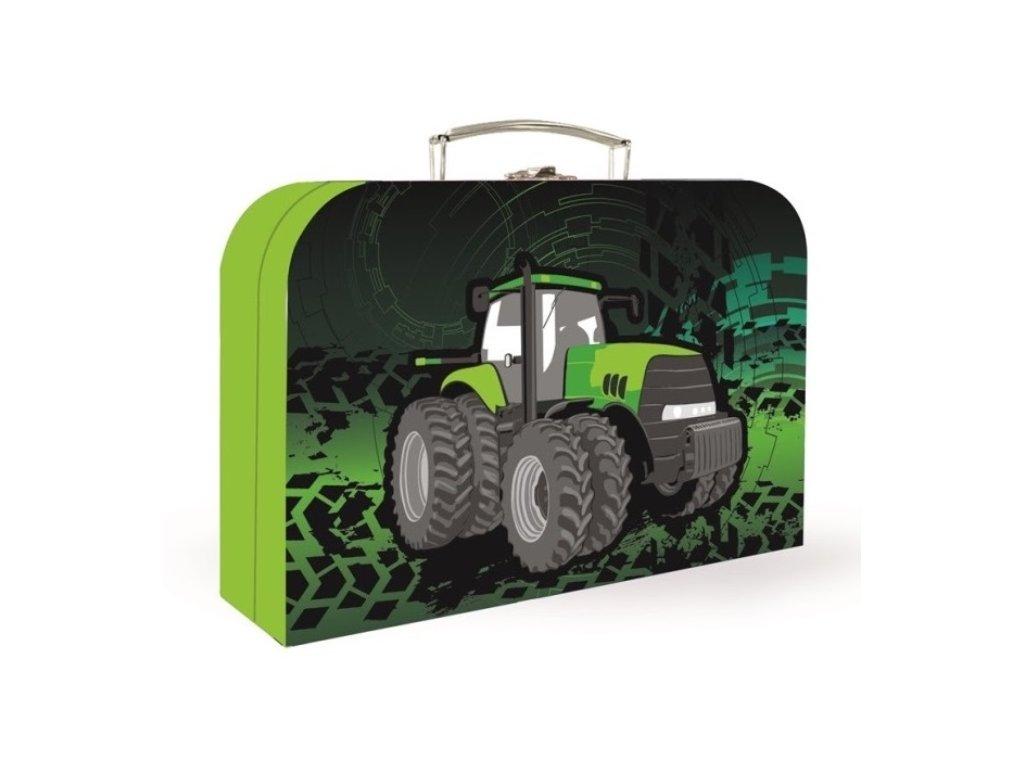 Kufrík na výtvarné potreby - traktor