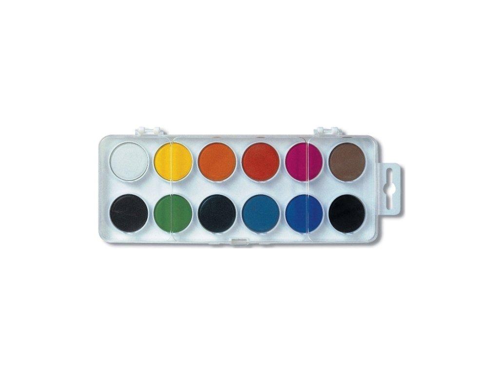 Vodové farby - 12 ks