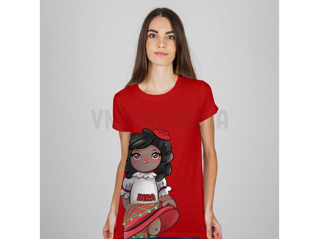 Inka červené dámske