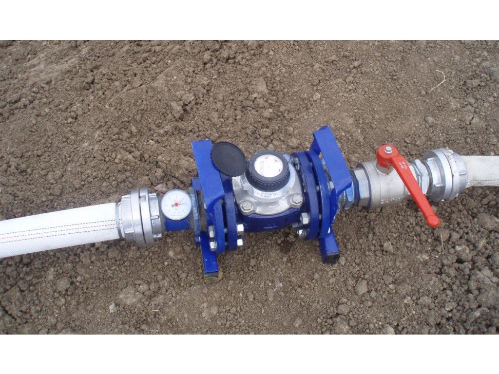 Hydrantový vodoměr DN 80