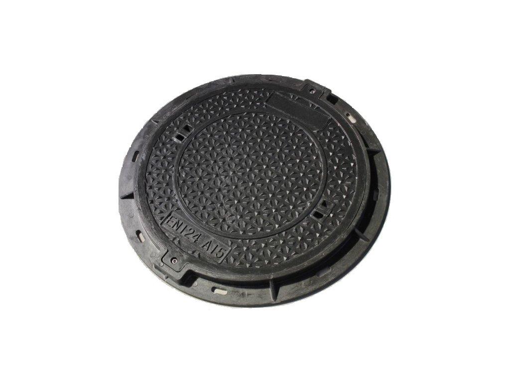 Poklop kruhový JS 600 - pochozí