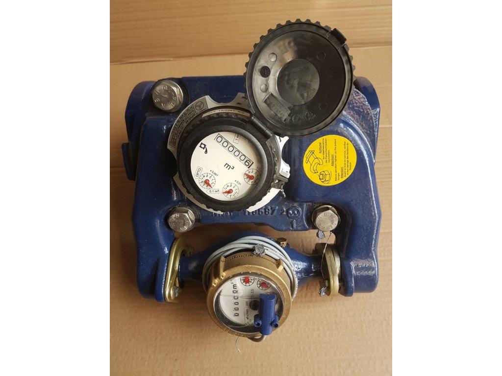 Vodoměr sdružený WPVD DN 50/50/16 L=270mm
