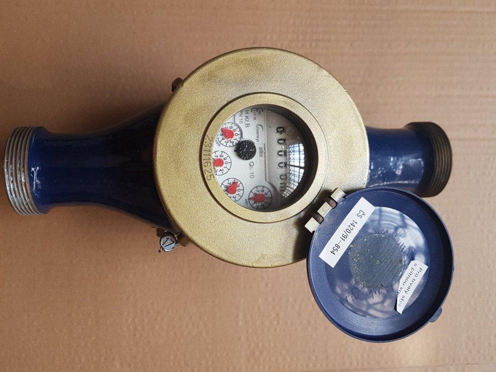 """Vodoměr XN 040 L=300mm G2"""" Qn 10 PN 16"""