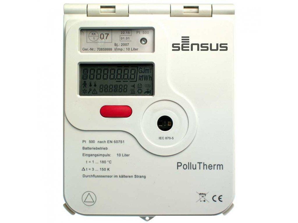 Měřič tepla PolluTherm 500/100 - bateriové napájení RV 2012